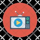 Tv Video Screen Icon