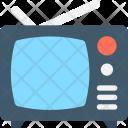 Tv Set Monitor Icon