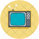 Tv Vintage Electronics Icon