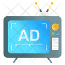 Tv Ads Icon