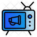 Tv Advertising Icon