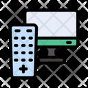 Tv Remote Screen Icon