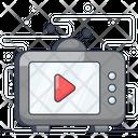 Tv Broadcaset Icon