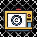 Tv Broadcast Copyright Tv Broadcast Icon