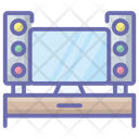 Tv Cabinet Tv Console Tv Stand Icon