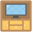 Tv Cabinets Trolley Icon