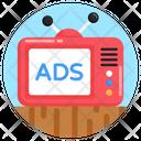 Tv Marketing Icon