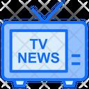 Tv News Tv Screen Icon