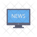 Tv News News Television Icon