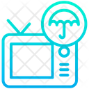 Television Secure Safe Icon