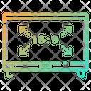 Tv Ratio Icon