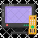 Tv Tv Remote Lcd Remote Icon