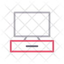 Lcd Screen Drawer Icon
