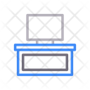 Lcd Screen Table Icon