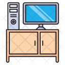 Cabinet Table Computer Icon