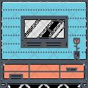 Tv Cabinet Tv Unit Tv Icon