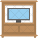 Tv Stand Trolley Icon