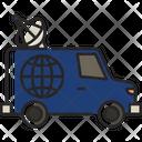 Tv Van News Van Icon