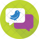 Tweet Twitter Chat Icon