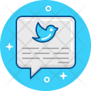 Tweet Chat Communication Icon