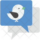 Tweet Chat Bubble Icon
