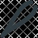 Tweezer Forceps Eyebrow Icon