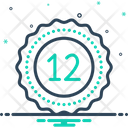 Twelve Fulfillment Mathematical Icon