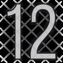 Twelve Icon