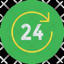 Twenty four hours Icon