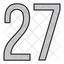 Numbers Days 27 Icon
