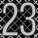 Twenty Three Icon