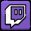 Twich Twitch Logo Brand Logo Icon