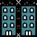 Twin Apartment Icon