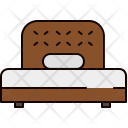 Twin Bed Icon