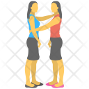 Gemini Twin Girls Icon
