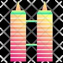 Twin Skyscraper Icon