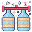 Oxygen Cylinders Cylinders Oxygen Tanks Oxygen Bottles Icon