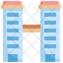 Twin Tower Building Icon
