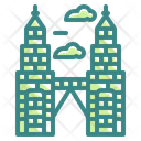 Twin Tower Icon