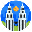 Twin Towers Icon