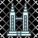 Petronas Twin Towers Icon