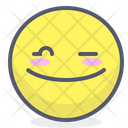 Twinkle Face Emot Icon