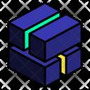 Twist Stack Cut Icon