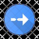 Twisted Arrow Navigation Icon