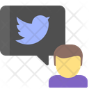 Twitter Media Network Icon