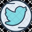 Social Media Message Internet Icon