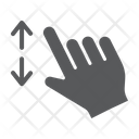 Two Finger Zoom Icon