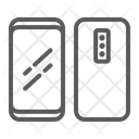 Two Smartphone Three Icon