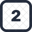 Number Square Icon