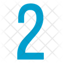 Two Numbers Icon